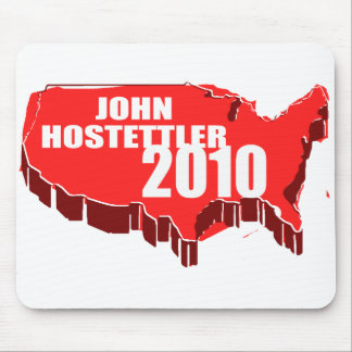 JOHN HOSTETTLER FOR SENATE MOUSEPADS