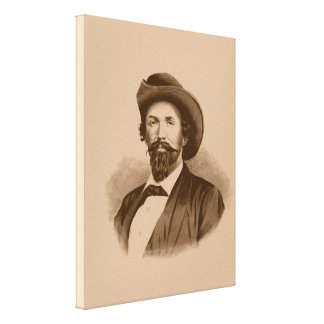 John Hunt Morgan Canvas Print