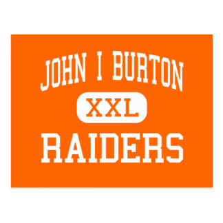 John I Burton - Raiders - High - Norton Virginia Postcards