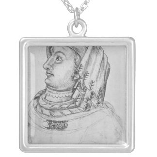 John III the Pitiless, Duke of Silver Plated Necklace