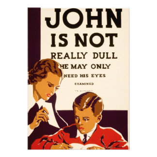 John is not really dull personalized invite