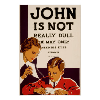 John is not really dull posters