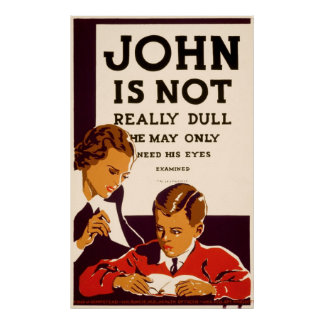 John is not really dull print