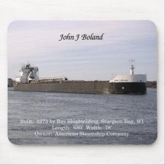 John J. Boland mousepad