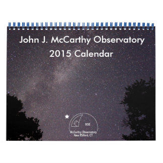 John J. McCarthy Observatory 2015 Calendar