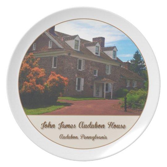 John James Audubon House Plate