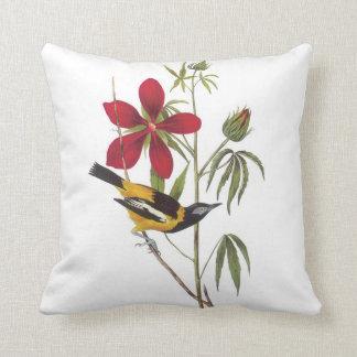 John James Audubon Troupial Pillow
