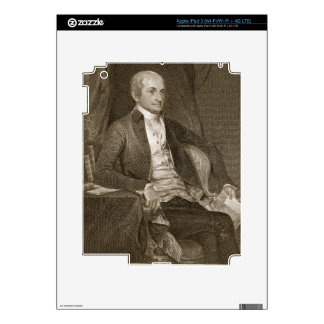John Jay, engraved by Asher Brown Durand (1796-188 Decal For iPad 3
