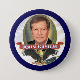 John Kasich 2016 Button