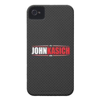 John Kasich 2016 (Stars & Stripes - Black) iPhone 4 Case-Mate Case
