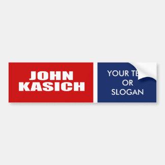 JOHN KASICH FOR GOVERNOR BUMPER STICKER