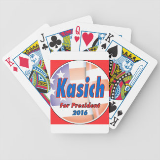 John Kasich for President in 2016 Bicycle Playing Cards