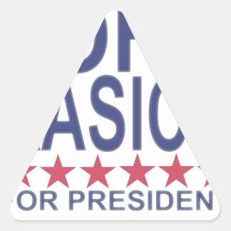 John Kasich For President ;'.png Triangle Sticker