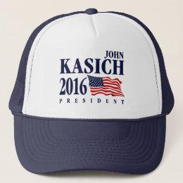 John Kasich For President Trucker Hat