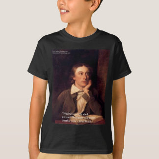 """John Keats """"Blossom"""" Quote Gifts Tees & Cards"""