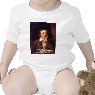 "John Keats ""Blossom"" Quote Gifts Tees & Cards Baby Creeper"