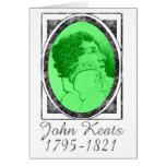 John Keats Greeting Card