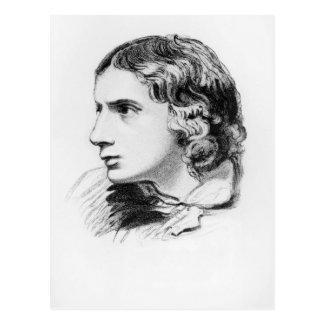 John Keats Postcard