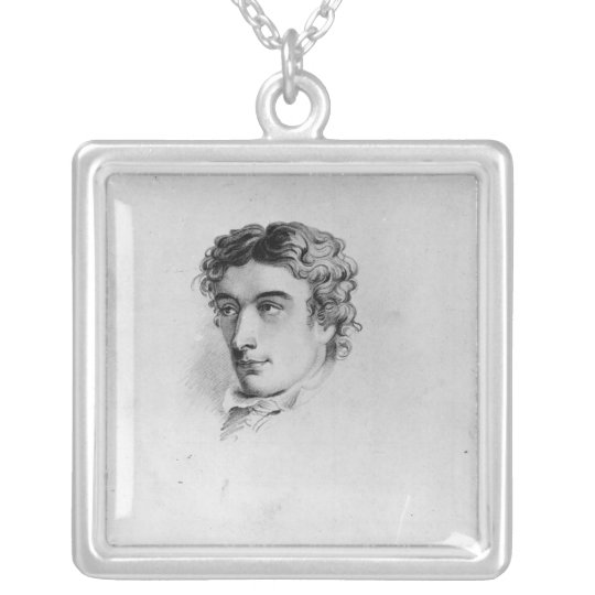 John Keats Silver Plated Necklace