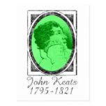 John Keats Tarjeta Postal