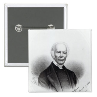 John Keble, 1866 Button