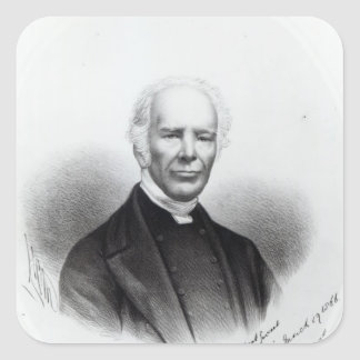 John Keble, 1866 Square Sticker