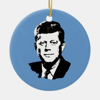 John Kennedy Christmas Tree Ornament