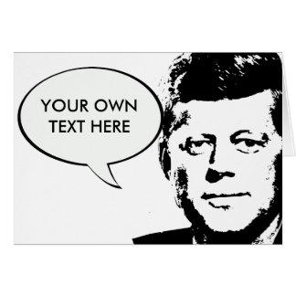 John Kennedy Tarjeta