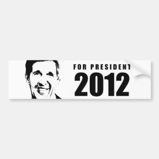 John Kerry 2012 Car Bumper Sticker