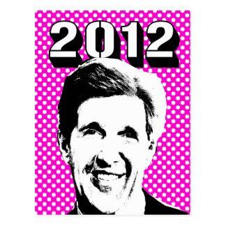 John Kerry 2012 Postales