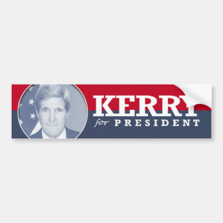 JOHN KERRY 2016 CAR BUMPER STICKER