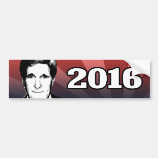 JOHN KERRY 2016 Candidate Car Bumper Sticker