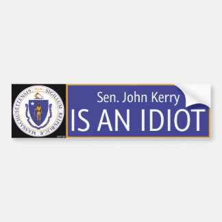 John Kerry Bumper Sticker