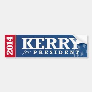 JOHN KERRY FOR PRESIDENT CAR BUMPER STICKER
