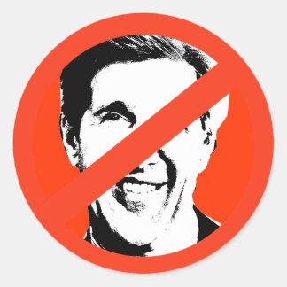 John Kerry Pegatinas Redondas