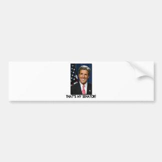 John Kerry, That's My Senator! Car Bumper Sticker