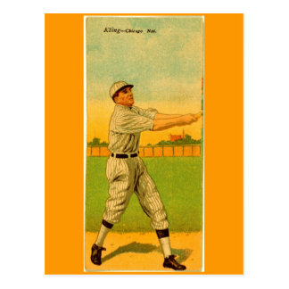John Kling, Chicago Cubs Postcards