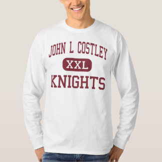 John L Costley - Knights - Middle - East Orange T-Shirt