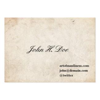 John L. Sullivan Calling Card Business Card Templates