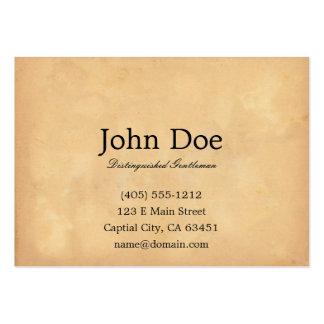 John L. Sullivan Calling Card Large Business Card