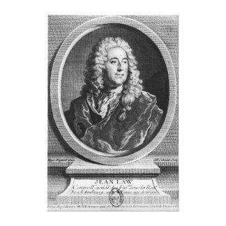 John Law Canvas Print