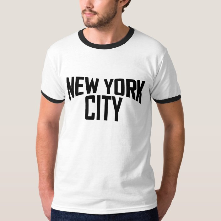 John Lennon New York City T Shirt Zazzle Com