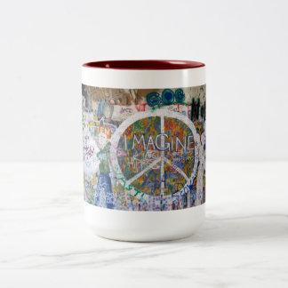 John Lennon Wall, Prague mug