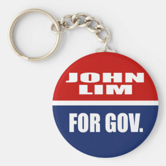 JOHN LIM FOR GOVERNOR KEY CHAIN