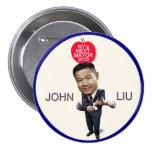 John Liu for NYC Mayor 2013 Pin