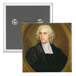 John Lloyd, Curate of St. Mildred's, Broad Street, 2 Inch Square Button