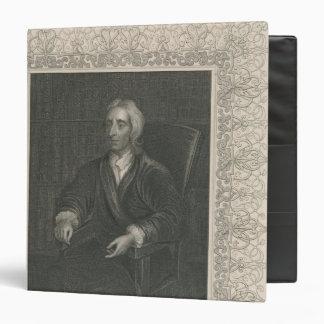 John Locke 3 Ring Binder