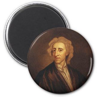 John Locke by Sir Godfrey Kneller 2 Inch Round Magnet