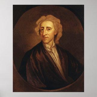 John Locke by Sir Godfrey Kneller Poster