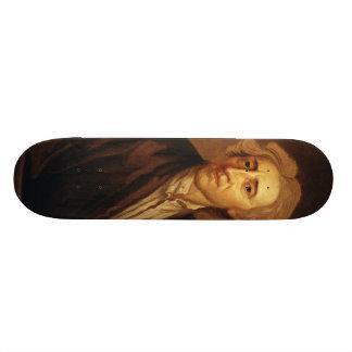 John Locke by Sir Godfrey Kneller Skateboard Deck
